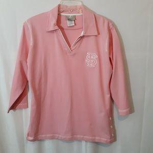 Reebok Logo Athletic Pink FSU Shirt